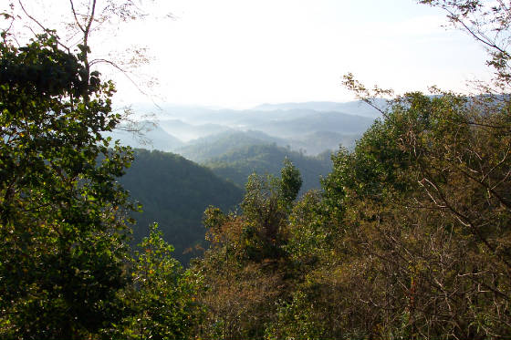 Triplett Valley, Appalachian Mtns near Boone, NC